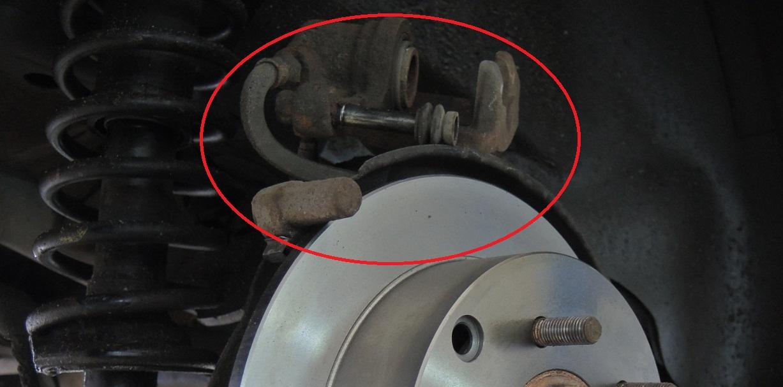 Описание работ по замене задних тормозных колодок Mitsubishi Lancer X - SKR-AUTO