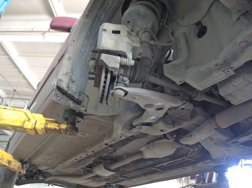 Ремонт передней подвески лансер 9