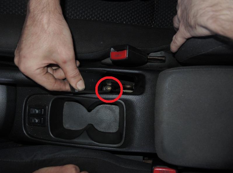 как подтянуть ручник на лансер 9 фото